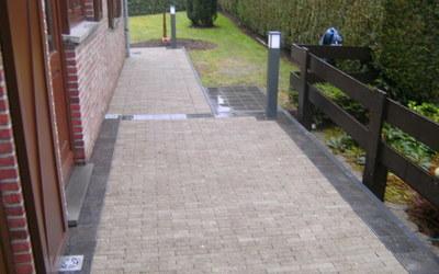 Bouwmaterialen Vanbever - Realisaties - Klinkers en tuin